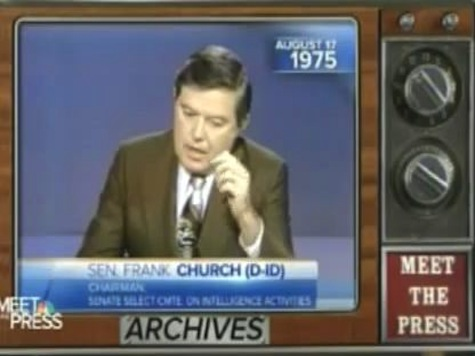 FLASHBACK 1975: Senator Warns Gov't Surveillance Will Be Turned On Americans