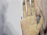 Tourist Breaks Finger Off Renaissance Statue