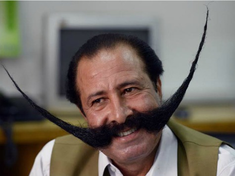 Pakistani Businessman Faces Death Threats over Giant Moustache