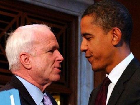 McCain On Obama Bromance: It's Like 'The Honeymooners'