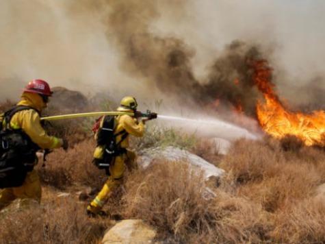 California Fire Growing, Burns 22 Sq. Miles