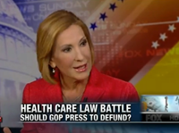 Carly Fiorina: GOP 'Missed Opportunity' To Repeal ObamaCare