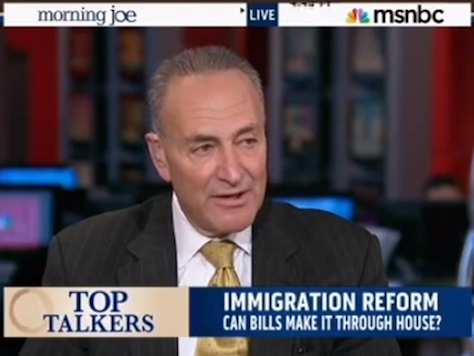 Schumer: Dems Won't Take Anything but Citizenship For Illegal Immigrants