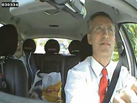Norwegian Prime Minister Pretends To Be Taxi Driver For Day