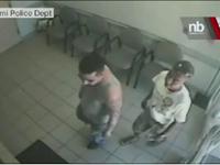 Surveillance Video Shows Facebook Murder Suspect Surrendering