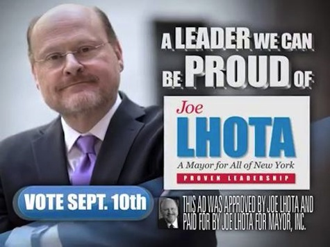 GOP NYC Mayoral Candidate Ad: Serious