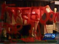 Animal Activists Deface Butter Cow at Iowa State Fair