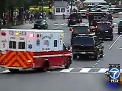 Obama's Ambulance Runs Out Of Gas, Has To Be Towed
