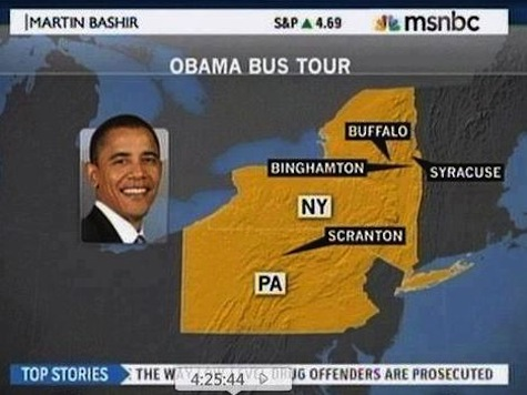 MSNBC Misplaces Four American Cities