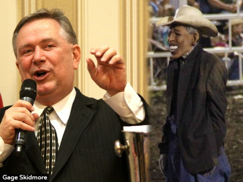 Congressman Invites Fired Obama Rodeo Clown to Texas