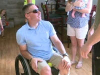 Hundreds Turn Out to Help Disabled Veteran
