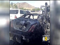 Actor Dick Van Dyke Escapes Burning Car