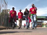 South Africa Auto Workers on Strike