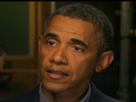 Obama: My Syrian Red Line Is Conditional on International Cooperation and Law