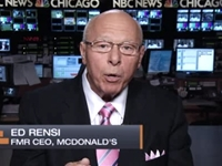 Ex-McDonald's CEO: Obamacare Forcing 25-Hour Work Week at National Restaurant Chain