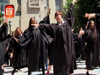 'Judge Judy' Stages Flash Mob