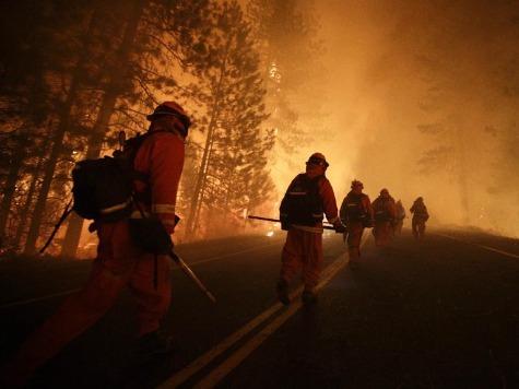 Yosemite Blaze Challenging Fire Crews