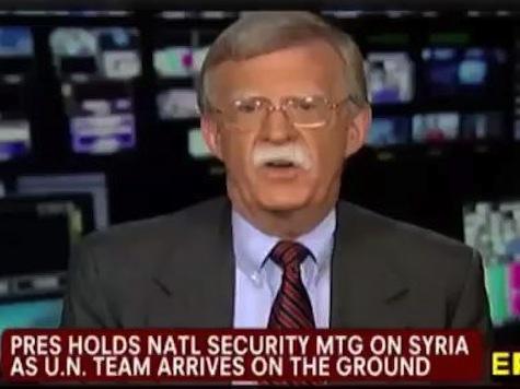 Bolton On Syria: Obama Showing 'Amazing Confusion'