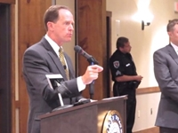 Pat Toomey Defends Gun Control Bill at Town Hall
