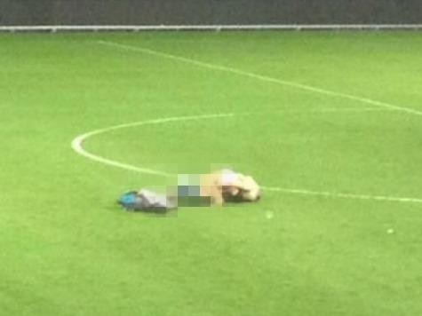 Denmark Couple Caught Having Sex on Soccer Field