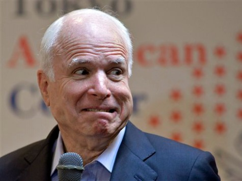 John McCain: Blocking Obama on Syria Would Be 'Catastrophic'