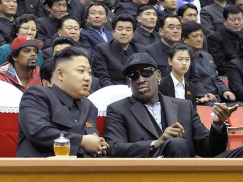 Second Date: Dennis Rodman Back in North Korea