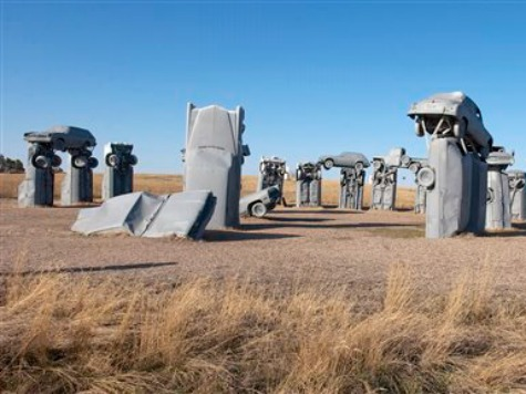 'Carhenge' Monument Gifted to Nebraska City