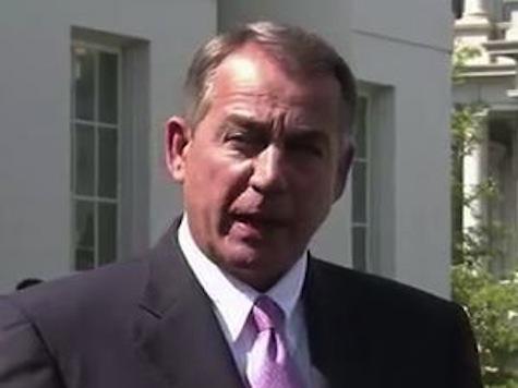 Boehner Backs Obama on Syria