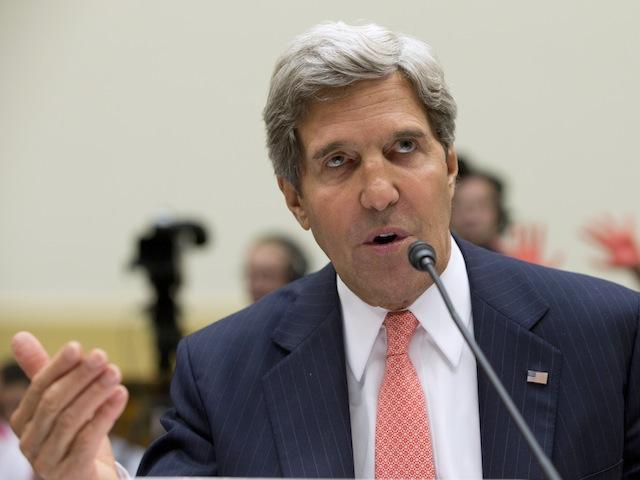 Kerry: 'Majority' Of Rebels Not Al Qaeda