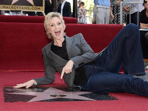 'Glee' Star Jane Lynch Gets Star on Walk of Fame