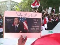 Sweden Protesters Hit Obama for Syria Plans