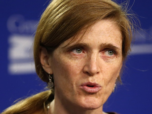 U.N. Ambassador: 'We Have Exhausted' Diplomacy With Assad
