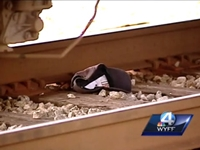Man Survives Being Run Over by Train