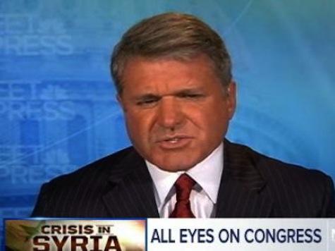Rep McCaul: Syria Attack 'Face-Saving Measure' For Obama