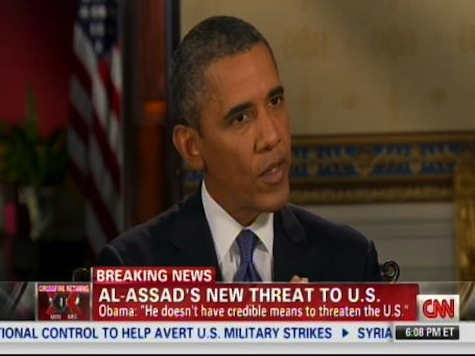 Obama: Assad Has No 'Credible Means To Threaten' U.S.