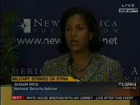 Susan Rice Lays Out The Case For Military Action In Syria