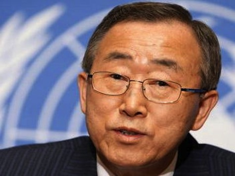 U.N. Sec General Still Considering Options On Syria