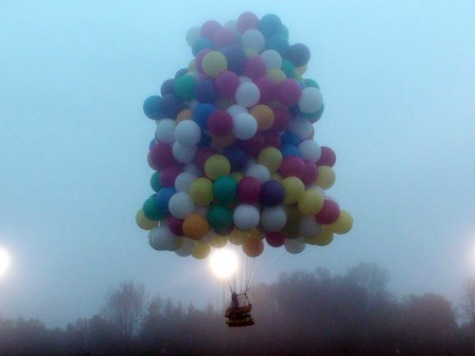 Balloonist Attempts Trans-Atlantic Flight