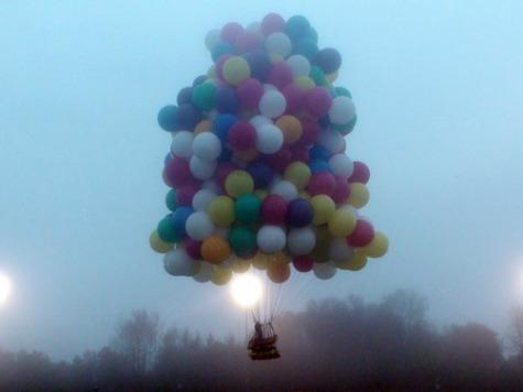 Balloonist Attempts Trans-Atlantic Flight