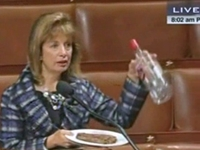 Rep. Flashes Vodka, Steak on House Floor