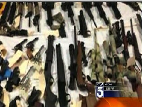 Alleged Police Impersonator Arrested With Huge Stash Of Weapons