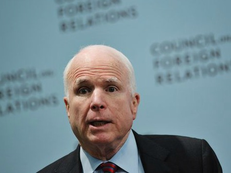 John McCain: 'Not Rational' to Think We Can Defund Obamacare