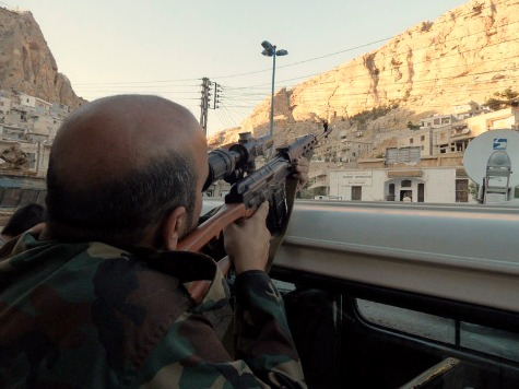 Snipers Haunt Christian Syrian Town of Maalula