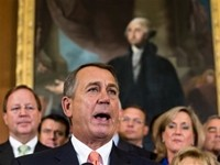 Boehner: Americans 'Don't Want Obamacare'
