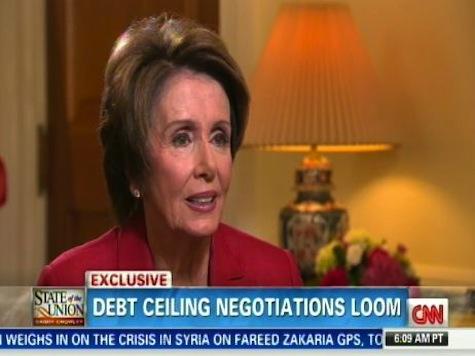 Pelosi: GOP Not Negotiating In 'Good Faith'