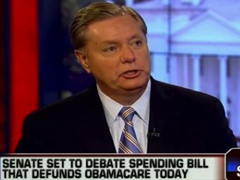 Lindsey Graham On ObamaCare: 'This Bill Sucks'