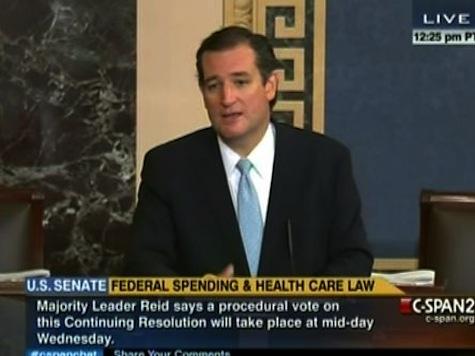 Cruz: Senators Care More About Cocktail Parties Than Constituents