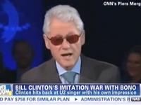 Oof: Bill Clinton Impersonates Bono