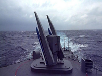 Taiwan Navy Launches Surface-To-Air Missile