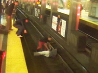WATCH: Boston Subway Riders Rescue Man on Tracks